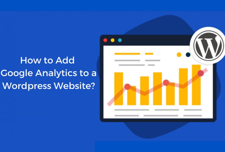add google analytics to wordpress plugin
